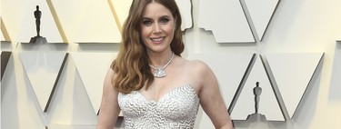 The only player Oscar 2019: Amy Adams belt desapercibida como un fantasma en la alfombra roja