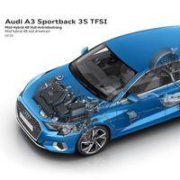 La variante mild hybrid del Audi A3 Sportback desembarca en España: con etiqueta ECO y desde 31.250 euros