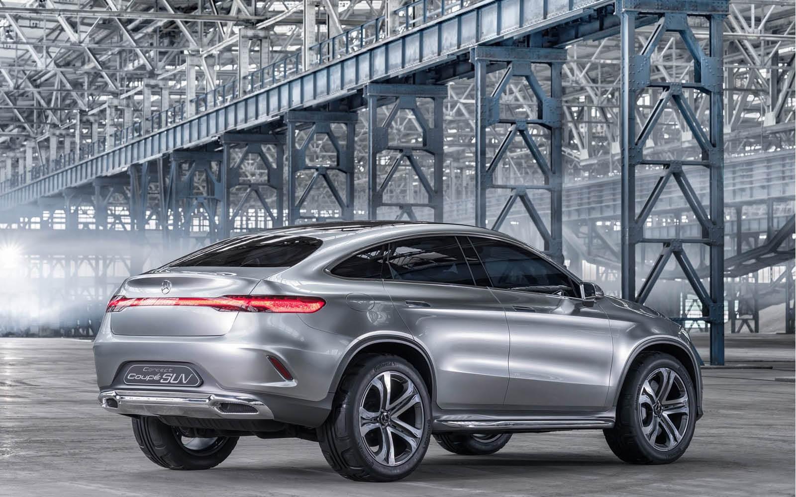 Foto de Mercedes-Benz Coupé SUV Concept (14/30)