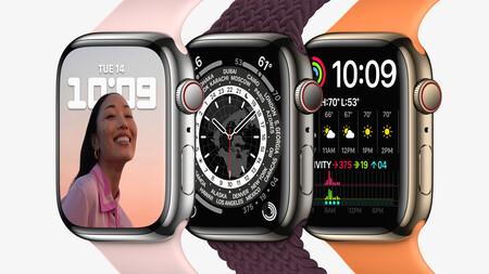 Apple Watch Series 7: más pantalla, más brillante, más resistente y nuevos colores