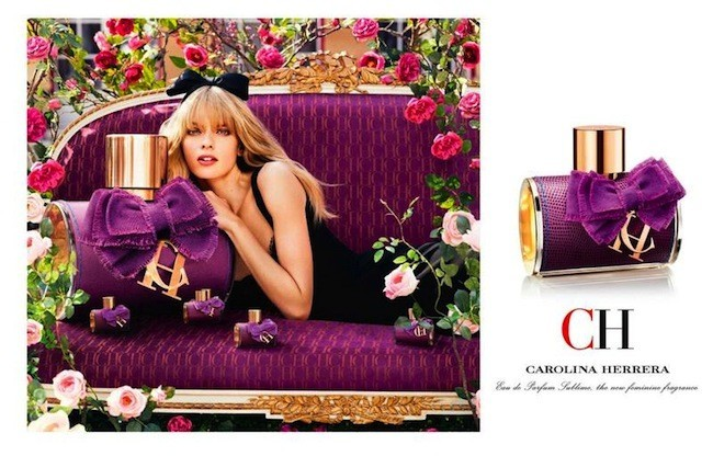 perfumes de carolina herrera mujer morado