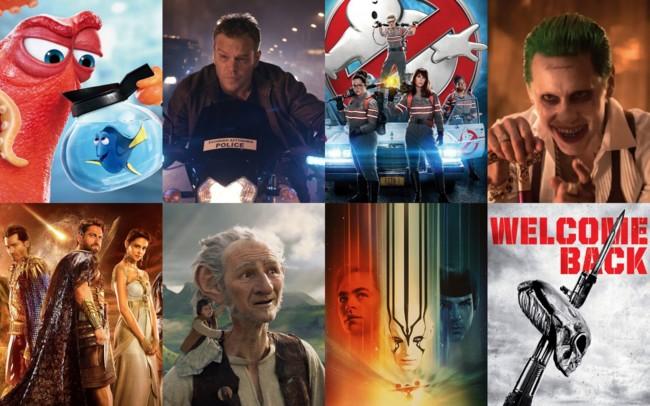 Algunas de las películas más esperadas del verano