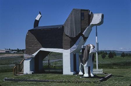 Edificio con forma de perro