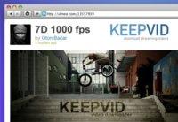 Keepvid, extensión para Safari para guardar vídeos de YouTube