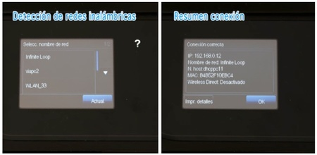 Configuración de red HP Officejet Pro 8600