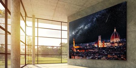 """LG también quiere dar el salto a la tecnología microLED: su primer pantalla modular sería 4K de 163 pulgadas y llegará """"pronto"""""""