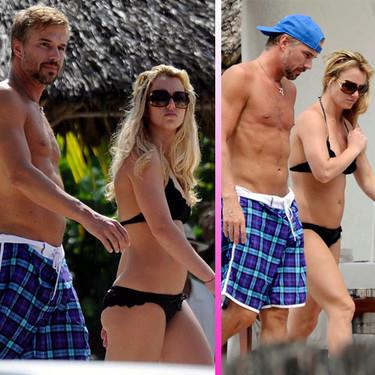 Britney Spears se relaja en las playas de México