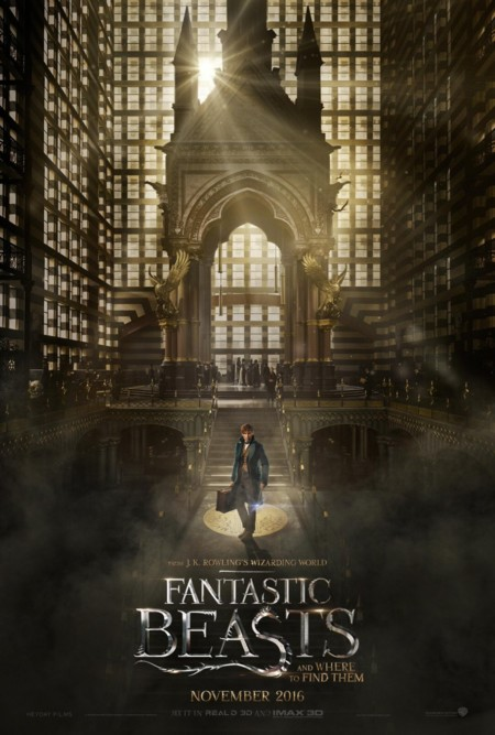 Cartel de Animales Fantásticos y Dónde Encontrarlos (Fantastic Beasts And Where To Find Them)