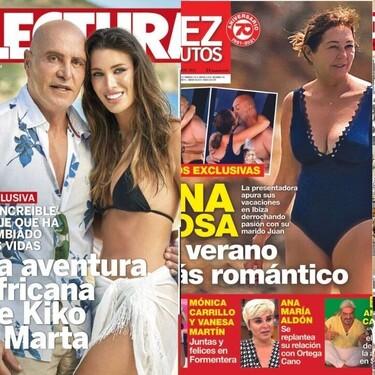 Ana Rosa Quintana sin una gotita de maquillaje y la foto con la que Enrique Ponce y Ana Soria entierran rumores: estas son las portadas de la semana del 25 de agosto