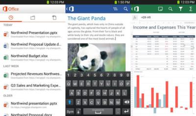 Microsoft Office disponible para teléfonos Android, pero sólo en Estados Unidos