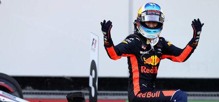 Daniel Ricciardo gana el GP de Azerbaiyán de F1 en la que Vettel pierde los nervios