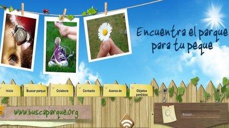 Buscaparque.org, el buscador de parques públicos infantiles