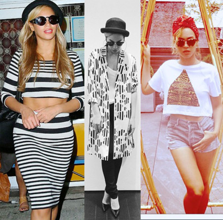 Beyonce Knowles TopShop