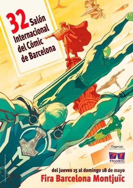 El 32 Salón del Cómic de Barcelona con actividades para peques y en el que se celebran los 75 años de Popeye