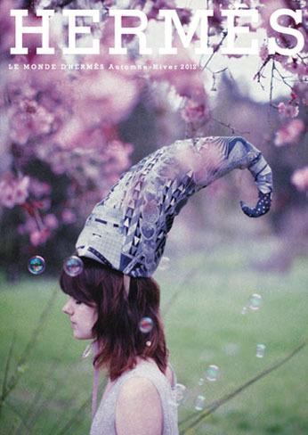 """La revista """"Le Monde d'Hermès"""" de septiembre, desde la bucólica perspectiva de Olivia Bee"""