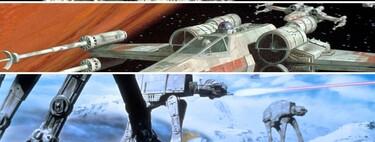 Del Halcón Milenario a los Destructores Estelares: estas son las 11 naves y vehículos con mejores diseños de 'Star Wars'