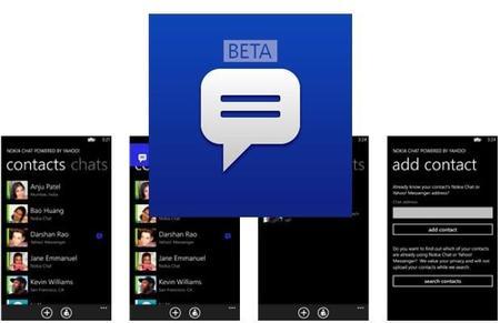 Nokia Chat Beta v.1.3 para Windows Phone 8, mejoras en rendimiento y nuevo modo offline