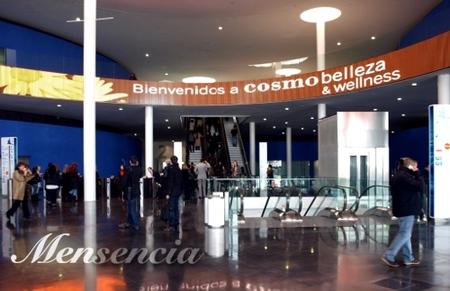 Mensencia estuvo en Cosmobelleza 2009