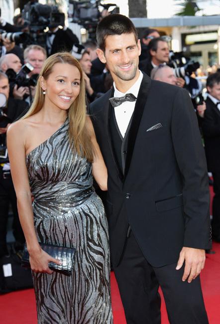 Novak Djokovic cannes 2012
