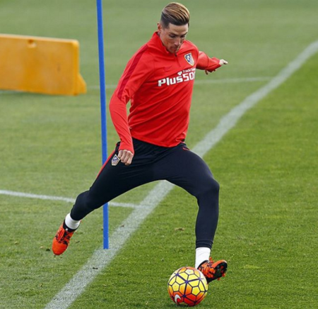 Fernando Torres ya tiene a su tercer retoño