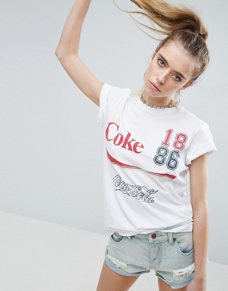 street style coca cola coke camiseta