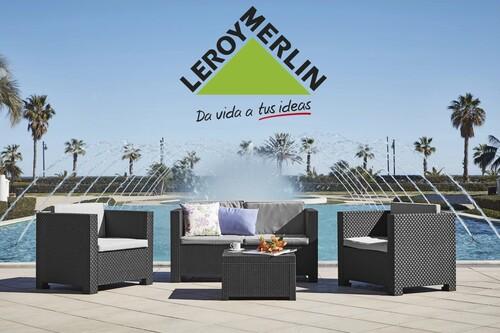 Aire acondicionado sin instalación por 199 euros, piscinas desmontables rebajadas y muebles de jardín más baratos: mejores ofertas Leroy Merlin