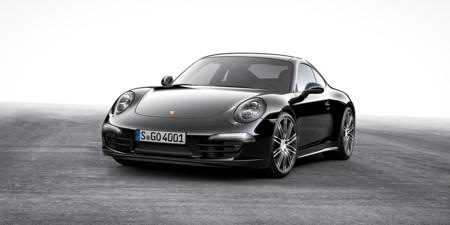 Los Porsche 911 Carrera y Boxster apuestan todo al negro