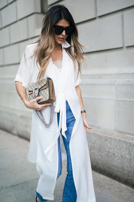 Asos Shirt Dress Mango Cropped Jeans Asos Pointed Heeled Mules Gucci Dionysus Bag Celine Sunglasses 15 Copy