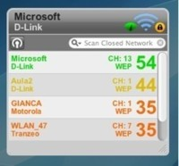 AirPort Traffic Control: Completo widget para supervisar las redes WIFI disponibles