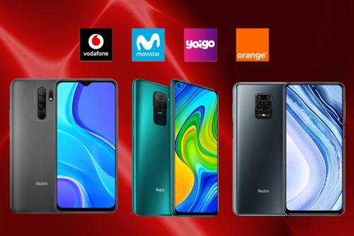 Dónde comprar los Xiaomi Redmi 9, Note 9 y Note 9 Pro más baratos: comparativa ofertas con Movistar, Vodafone, Orange y Yoigo