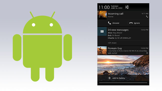Desactivar notificaciones en Android