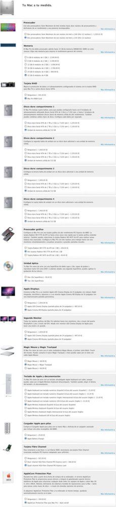 Apple Mac Pro 2010 configuración más potente