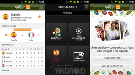 Eurocopa 2012 Android