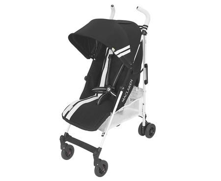 Oferta de Amazon en la  silla de paseo Maclaren Quest FC: puede ser neutra, en color negro, por 209,98 euros