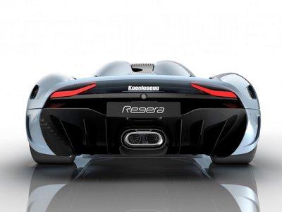 Así funciona el Koenigsegg Regera sin caja de cambios