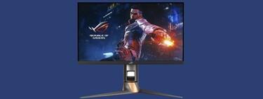 Este monitor gaming de Asus nos ofrece una de las mayores tasas de refresco, 360 Hz, y ahora podemos llevárnoslo a casa a su mínimo histórico