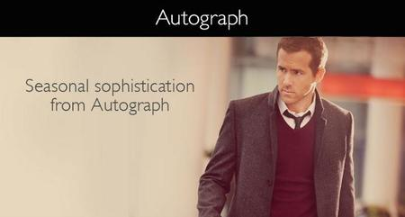 Autograph Ryan Reynolds Marks and Spencer