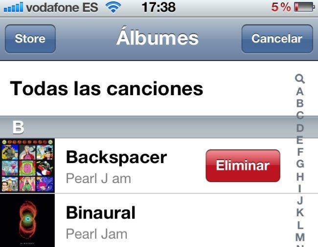 App Música iOS