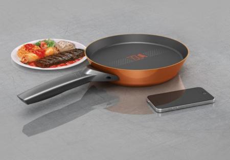 Esta sartén conectada a tu smartphone puede convertirse en un cocinero infalible