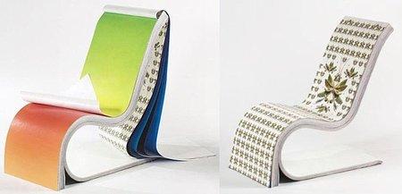 Darwin Chair, una silla cuaderno para sentarse y pasar página