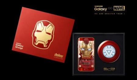 Samsung nos muestra su Galaxy S6 Edge de Iron Man