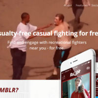 Si quieres pegarte con un desconocido porque sí, Rumblr es tu nueva app (falsa) favorita