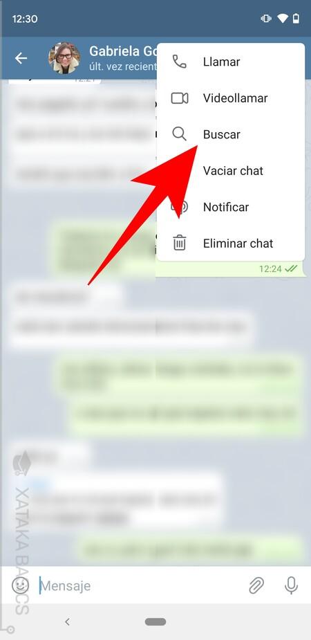 Buscar En Chat