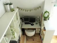 Puertas abiertas: un dormitorio con despacho