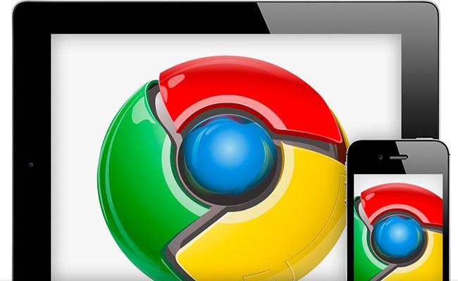 Google Chrome en iOS