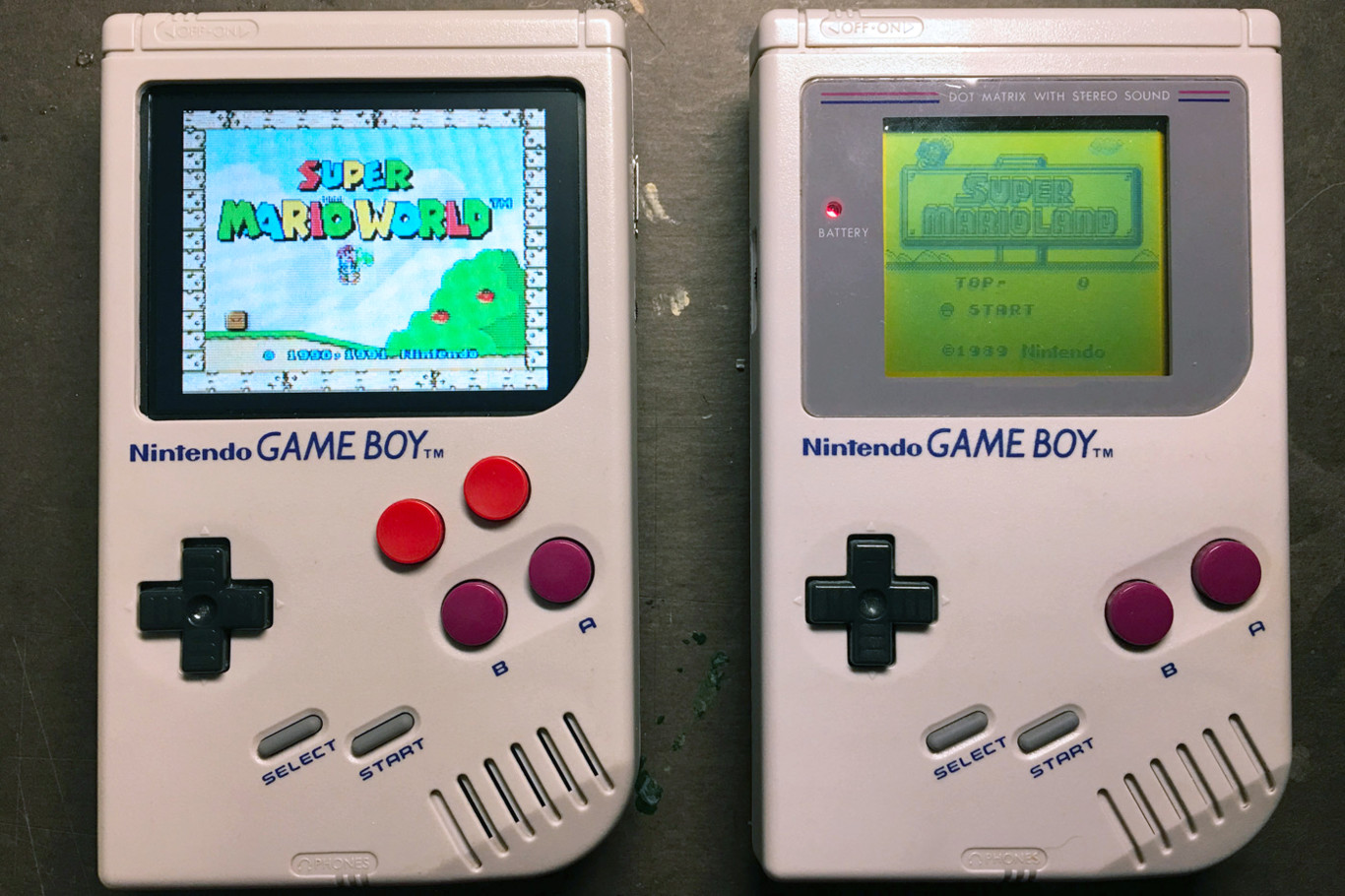 Construir emulador retro con una Game boy y un cartucho