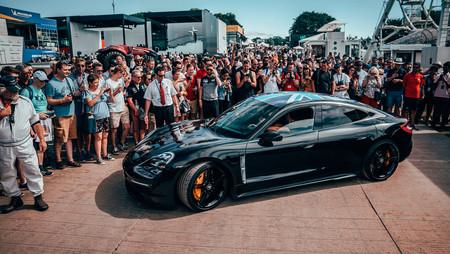 Porsche Taycan en el Festival de Velocidad de Goodwood 2019