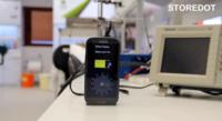 30 segundos es todo lo que necesitaras para cargar tu dispositivo por completo, según StoreDot
