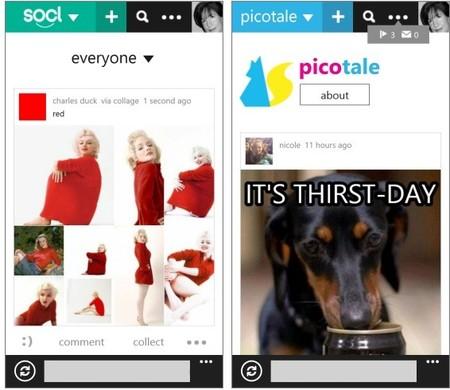 Microsoft lanza la aplicación de Socl para Windows Phone 8