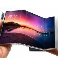 Samsung tiene nuevos paneles OLED plegables: una pantalla que se dobla en dos partes, otra que se estira y hasta un tablet flexible